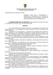 Prefeitura Municipal de Sapucaia do SuL - Sinpro/RS