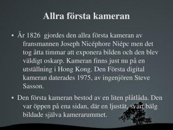 Kamerans-av-Hannah-Karin 9C - Teknik från Lillåns skola