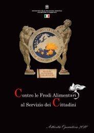Attività operativa 2010 - Carabinieri