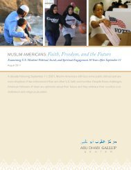 MUSlIM AMerIcAnS: Faith, Freedom, and the Future