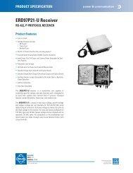ERD97P21-U Receiver - Cables Plus USA