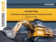 Investor Day - Finning International Inc.