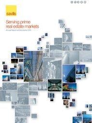 Serving prime real estate markets - Investor relations - Savills