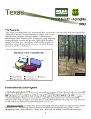 TX - Forest Health Monitoring - USDA Forest Service