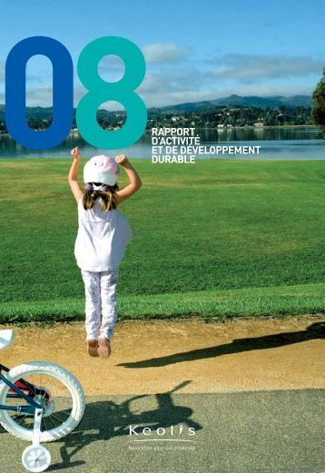 Rapport d'activité et de développement durable - Keolis