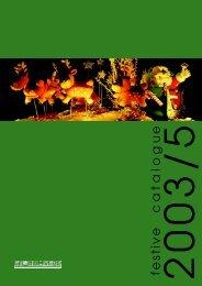 Festive Catalogue 2003 - Mr RESISTOR