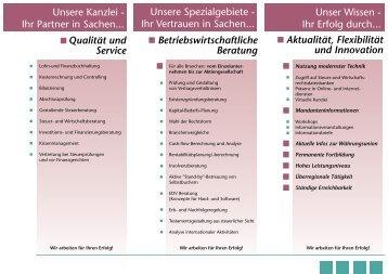 Einzelunternehmen bis Aktiengesellschaft - Heller und Buxan