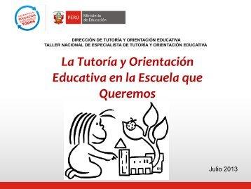 Descargar conferencia - Ditoe - Ministerio de Educación