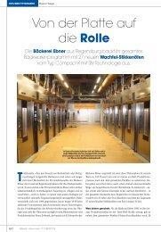 Kompletter Artikel aus dem Back Journal - Wachtel GmbH