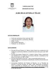 ALMA DELIA ASTUDILLO TÉLLEZ - Gobierno del Estado de Morelos