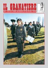 n. 1 - gennaio - marzo 2005 - Associazione Nazionale Granatieri di ...
