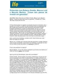 Entrevista com Rubens Ometto, Marcos Lutz e Marcelo Martins - UFRJ