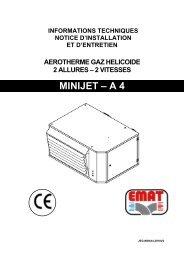 MINIJET – A 4 - EMAT