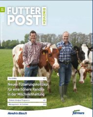 FutterPost Rindvieh 1-2013 website.pdf - ForFarmers Thesing