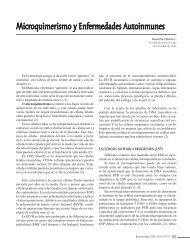 Microquimerismo y Enfermedades Autoinmunes