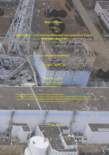 Fukushima Daiichi Cold-Vent option poorly thought through - Large ...