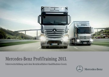 Mercedes-Benz ProfiTraining 2013. - Schmolck