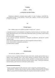 Vyhláška ze dne …… 2013, o energetické náročnosti budov ...