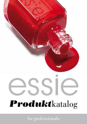 Für den essie Katalog JETZT HIER klicken! - MAHA Cosmetics