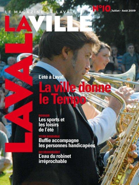"""""""LAVAL LA VILLE"""" juillet/août 2009"""