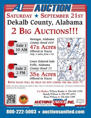 9-21-13 2 Auctions.pdf - Auctions United