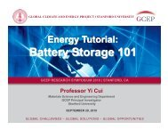Battery Storage 101 - The Global Climate and Energy Project ...