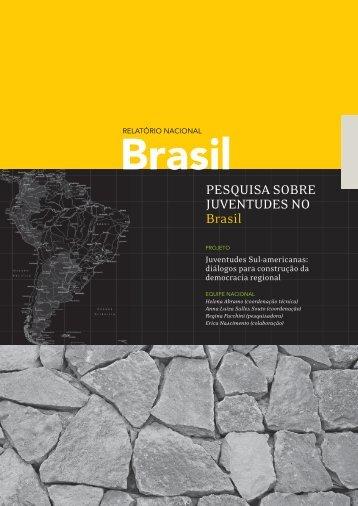 Relatório Nacional - Pesquisa sobre juventudes no Brasil - Polis