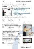 cm/dm-skala som syns tydligt – Hög kvalité – Passar ... - Flexima AB - Page 4