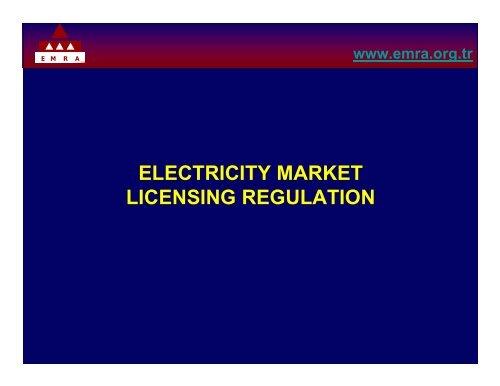 electricity market licensing regulation - Narucpartnerships.org