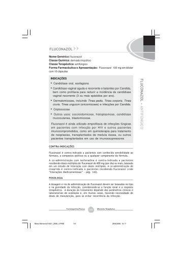 Fluconazol - Farmanguinhos - Fiocruz