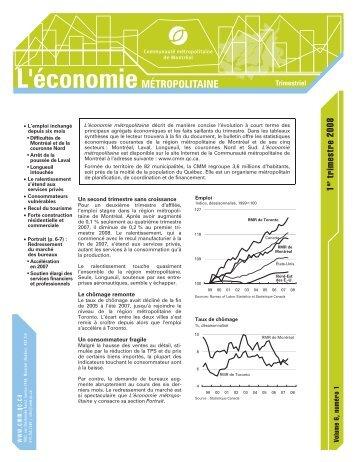 Vol. 6 no 1 - Communauté métropolitaine de Montréal
