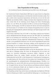 SDS_Organisation in Bewegung - Rosa-Luxemburg-Stiftung