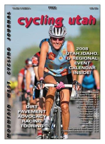 June 2008 Issue - Cycling Utah