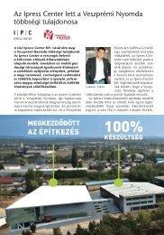 Az Ipress Center lett a Veszprémi Nyomda többségi tulajdonosa - EPA