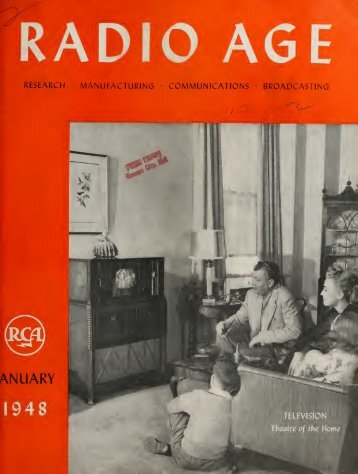 Radio Age - 1948, January - 36 Pages, 3.4 MB ... - VacuumTubeEra