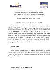 Edital nº 002/2008 - Detran