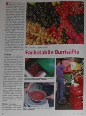 Obst und Garten - Buchter-Obst
