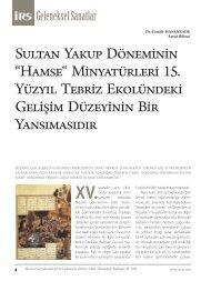 """Sultan Yakup Döneminin """"Hamse"""" Minyatürleri 15. Yüzyıl Tebriz ... - Irs"""