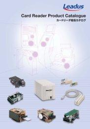 Card Reader Product Catalogue