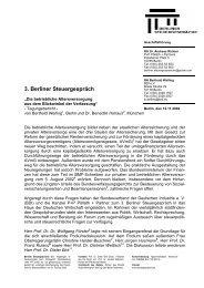 Tagungsbericht 3. Berliner Steuergespräch (PDF-Format)