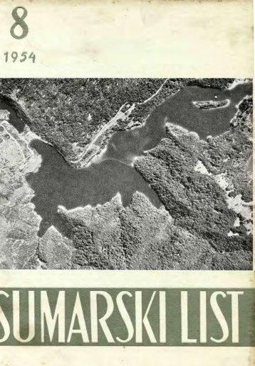 ÅUMARSKI LIST 8/1954