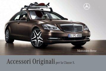 Accessori Originaliper la Classe S. - Automoto.it
