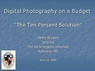Digital Photography on a Budget