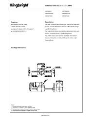 Features SUBMINIATURE SOLID STATE LAMPS Description ...