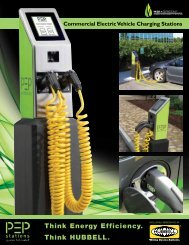 Commercial Electric Vehicle Charging Stations - Hubbell Wiring ...