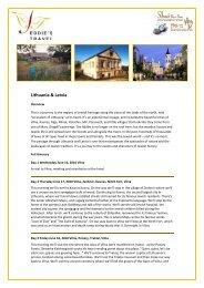 Lithuania & Latvia - Kosher Travelers