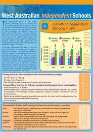 School Funding Information - Association of Independent Schools of ...
