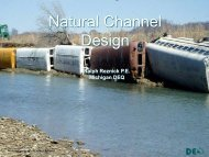 Natural Channel Design