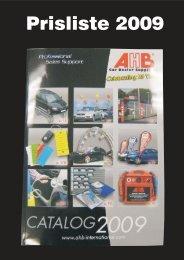 Last ned Prisliste (PDF, 0,3 MB) - AHB