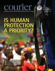 Courier: Is Human Protection A Priority? - The Stanley Foundation